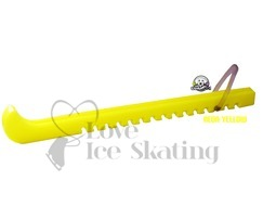 Guardog Figure Neon Yellow Ice Skate Blade Guards