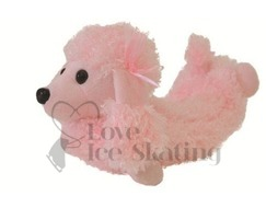 Chloe Noel Pink Poodle Blade Blankies Soakers/ blade covers