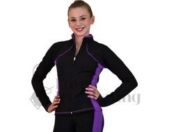 Ice Skating Jacket JS08 Supplex Purple by Chloe Noel