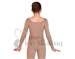 Chloe Noel Long Sleeved Leotard Underwear Base Layer