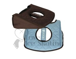 Zuca Seat Cushion Reversible Turquoise / Brown
