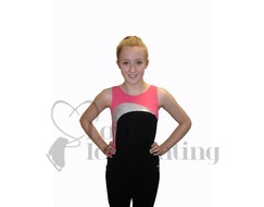 Mondor Camisole Figure Skating Training Top 4823 D9 Dragon Pink