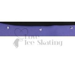 Ice Skating Jacket by Chloe Noel Purple with Swarovski Crystals