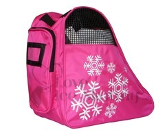 Snowflake Fuchsia Figure  Skating Bag