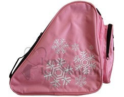 Snowflake Black Ice Skating Bag