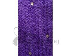 Purple Legwarmers with Rhinestones