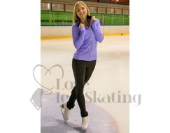 JIV Ice Skating Training Jacket in Lavender
