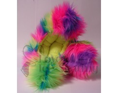 Fuzzy Soakers Rainbow Crazy Fur