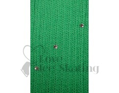 Childrens Neon Green Legwarmers with Rhinestones