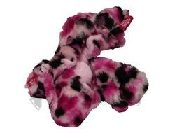 Guardog Pink Heart Fuzzy Soft Pawz- Pink Leopard