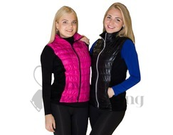 Jiv Fuchsia Ice Skating Training Gillet / Body Warmer
