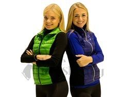 Jiv Blue Figure Skating Training Gillet / Body Warmer
