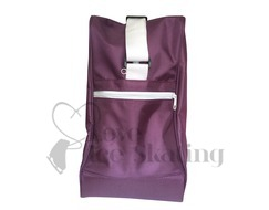 Large Fuchsia Triangle Ice Skating Bag