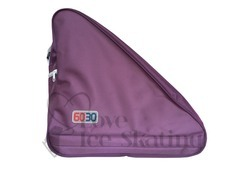 Large Purple Triangle Ice Skating Bag