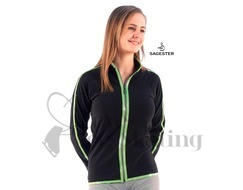 Sagester 252 Ice Skating Jacket with Silver Metallic Trim