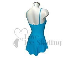 Sagester 160 Turquoise Blue Ice Skating Dress Adult Extra Small