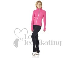 Ice Skating Ladies Jacket by Mondor 4808 Dragon Pink