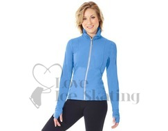 Ice Skating Ladies Jacket by Mondor 4808 Illumination Blue