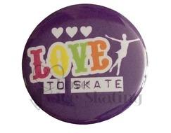 Love to Skate Rainbow Badge
