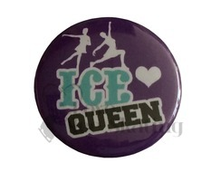 Ice Queen on Puprle Badge