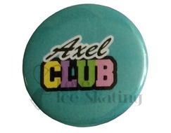 Axel Club Teal Badge