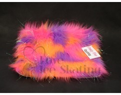 Fuzzy Soakers Glitter Crazy Fur Orange,Pink & Purple Towel