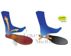 Edea Anti Shock Footbed Undersole Noene Technology