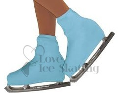 Chloe Noel Boot Covers Youth LIGHT BLUE
