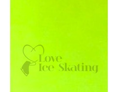 Neon Yellow Thuono Performance Ice Skating Jacket