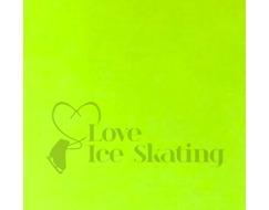 Neon Yellow Thuono Performance Ice Skating Jacket