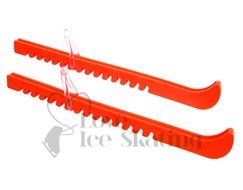 Ice Skate Figure Blade Guards Neon Orange by A&R