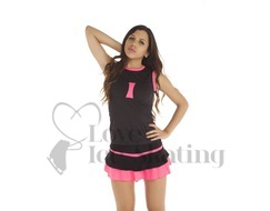 Thuono Neon Pink Thermal Skating Skirt