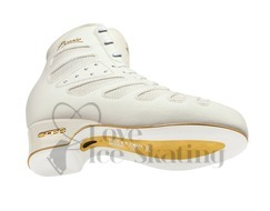 Edea Piano Ice Skating Boots White - Junior