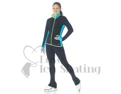 Mondor 4836 Supplex Ice Skating Jacket Black Tropical