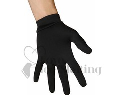 JIV Figure Ice Skating Black Gloves