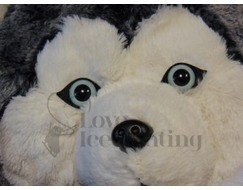 Husky Plush Hand Warmer by Cozy Time