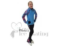 ES Performance Figures Ice Skating Jacket Blue