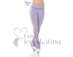 Mondor 4551 Blue Lilac Strata Ice Skating Leggings