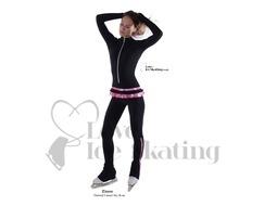 Thuono Linx Figure Skating Catsuit Sky Rosa