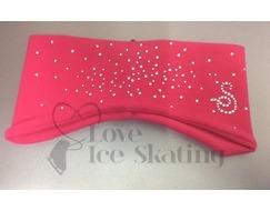 Sagester Fuchsia Ice Skating Crystals Spray  Headband