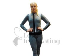 Thuono Linx B-Melange Grey  Figure Skating Jacket