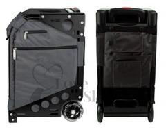 Zuca Pro Artist Black Frame with Graphite Grey Insert