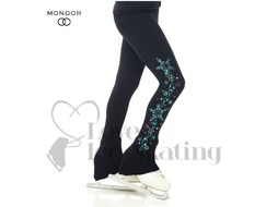 Mondor Polartec® Ice Skating Glitter Sequins leggings
