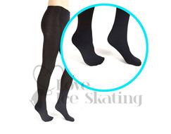 Mondor Performance 3322 Black Footed Ice Skating Tights