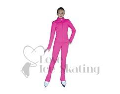 ChloeNoel PS735 Candy Pink Ice Skating Leggings