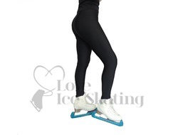 Black Ice skating Fleece lined Leggings