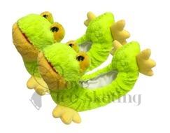 Chloe Noel Lime Green Frog Soakers