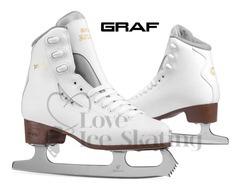 Graf Bolero White Senior Skates S19