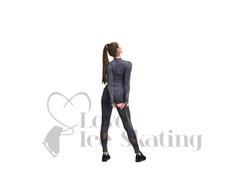 Jiv Sense Figure Skating Grey Top