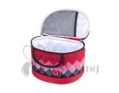 Zuca Pink Diamonds Lunch Box